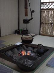 囲炉裏懐石