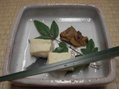 お祝い席・お豆腐とはまぐり