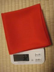 帛紗の体重測定
