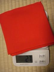 さらに、帛紗の体重測定