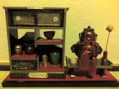 ひな飾り・お茶道具