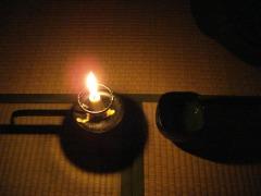 濃茶と蝋燭
