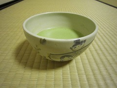 越谷市にある優権窯の茶碗