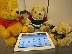 iPad2を囲んで(ポメラのときは整列だった)