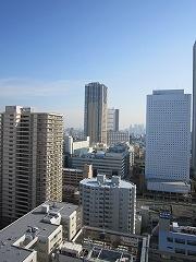都心高層階からの眺め