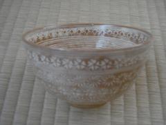 三島・茶箱の茶碗(母の結婚時のもの)