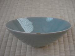 10代の終わりに韓国旅行で買った青磁茶碗