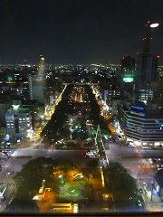 タワーからの夜景