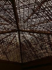 薄茶席の天井