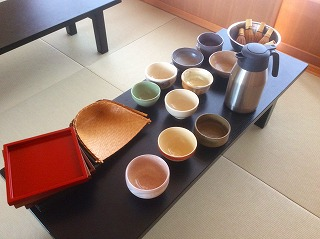 好きな茶碗も選択