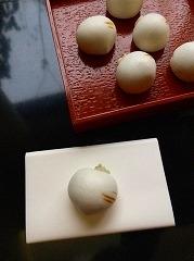 吉祥かぶらの薯蕷饅頭